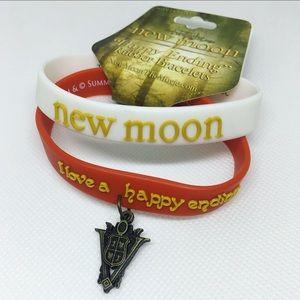 Twilight New Moon Volturi Rubber Bracelet Set
